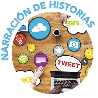 icono para NARRACIÓN DE HISTORIAS
